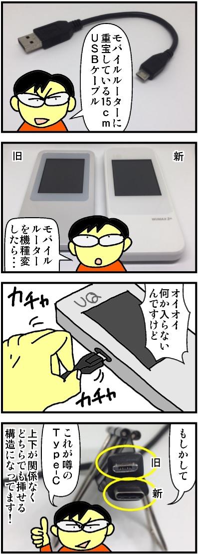 USBケーブル Type-C